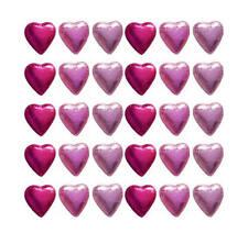 100 CADBURY CHOCOLATE PINK MIX HEARTS-WEDDING FAVOURS BABY GIRL SHOWER PARTIES