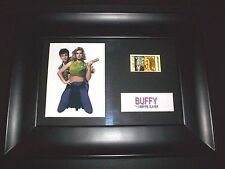 BUFFY VAMPIRE SLAYER Framed Movie Film Cell Memorabilia Compliments poster dvd
