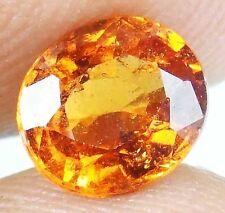 HESSONITE GARNET Natural Gems Many Sizes Vedic Astrological Gem 13072808-15 SLM