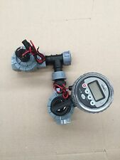 Orbit 4 Station Irrigation Controller Battery Operated Solenoid Valves 2 X 25mm