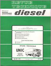 ▬►REVUE TECHNIQUE RTD de 1979 CAMIONS UNIC NC 20_190 N C20_190 NC/H 20