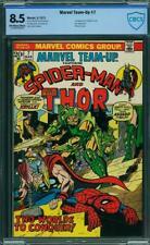 MARVEL TEAM UP 7 CBCS 8.5 Gil Kane Andru Mooney Spider-Man Thor 1973 CGC