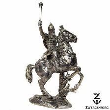 Tin Toy SOLDIER Cavalry RUSSIAN Mounted KNIGHT Medieval 1/32 Metal Tin Figure