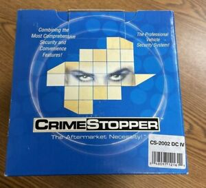 CRIME STOPPER Professional Vehicle Security System Model CS-2002 DC IV   NEW