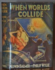 NEAR FINE~ WHEN WORLDS COLLIDE~ 1ST/1ST RARE STOKES EDITION