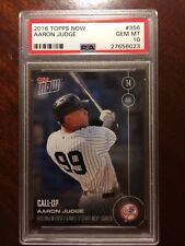 RARE in PSA 10!! 2016 Topps NOW AARON JUDGE #356 /1169 PSA 10 - GEM MINT