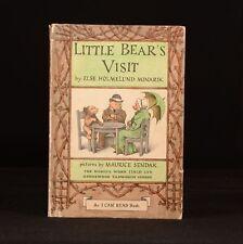 1962 Little Bear's Visit Children's Book I Can Read E H Minarik M Sendak First T