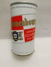 Vintage Kronenbourg Strasbourg France Straight Steel Beer Can