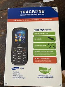 TracFone Samsung S150G Black Cellphone, prepay, unlimited double minutes-NEW
