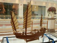 China sail boat zhoushan ancient ship model Wooden barque model kit