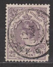 NVPH Netherlands Nederland nr 78 used Wilhelmina 1899 Pays Bas
