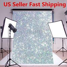 5X7ft Bling Wall Valentine's Day Photography Background Photo Studio Backdrop