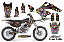 KAWASAKI KXF 250 Graphic Kit AMR Racing # Plates Decal Sticker Part 06-08 EDLK