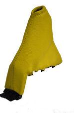 FITS KIA PICANTO RIO SHUMA HANDBRAKE GAITER LEATHER yellow