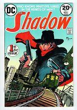 DC Comics THE SHADOW #1 Nov 1973 vintage comic VF/NM condition