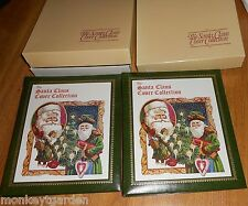 THE SANTA CLAUS COVER STAMP COLLECTION VOLUMES I & II USSR RUSSIA 1976 1977 Xmas