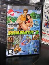 RUNAWAY 2 + RUNAWAY  PC DVD NUOVO IMBALLATO ITALIANO