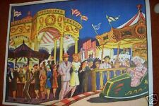 """CIRCUS   30 x 39""""   ROLLED Unused Wilson Show Poster"""