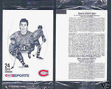 1986-87 Kraft Canada Montreal Canadien Chris Chelios in Cello Pack