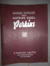 PERKINS moteur P6 P4 P3 : manuel d'atelier réparation 1955