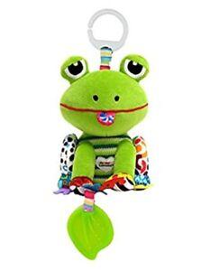 Lamaze Jibber Jabber Jake Frog Stroller Plush