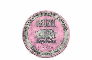 Reuzel Pomade Pink Heavy Hold Grease 1.2oz