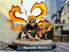 Anime Uzumaki Naruto Nine Tails Kurama Figure Statue Toy 20cm No Box