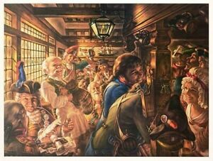 "Virginia Dan-""Yankees Tavern 1776""-Ltd Edition Lithograph/Paper/Hand Signed/LOA"