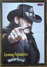 MOTORHEAD BIG POSTER !!! Iron Maiden/Lemmy/Ozzy/Black Sabbath/Scorpions !!!!!!!!