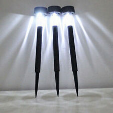 Portable Solar LED Outdoor Lawn Light Garden Path Stake Spot Tube Lamp Gracious