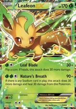 Folipurba-EX / Leafeon-EX - 10/83 Generationen - EX EN NM Pokemon