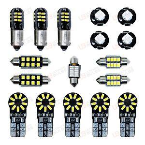 Renault Sport Megane 250 Bright White LED interior Light Kit Full Kit - UK Stock