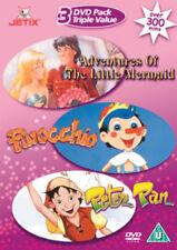 The Little Mermaid/Pinocchio/Peter Pan DVD (2004)