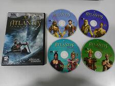 ATLANTIS EVOLUTION JUEGO PC ESPAÑOL 4 X CD-ROM MK INTERACTIVE