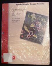 Principles of Biology Mcgraw Hill 15th edition Special Binder-Ready Version