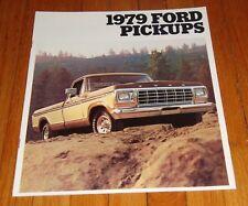 Original 1979 Ford Pickup Sales Brochure F-100 F-150 F-250 F-350 Ranger Truck