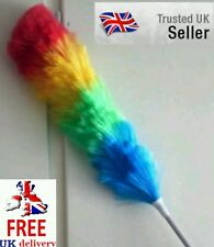 Extending Telescopic Bendable Feather type Duster Dust Genie Top Cleaner UK Sale