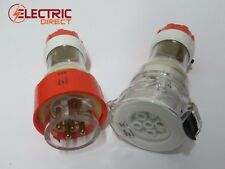 5 Pin 3 Phase 10 Amp Straight Plug & Socket IP66 10A