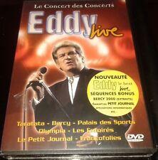 RARE NEUF SOUS BLISTER DVD EDDY MITCHELL LIVE INCLUS MEDLEY JOHNNY HALLYDAY