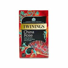 New Sealed Twinings China Rose Tea - 20 envelopes