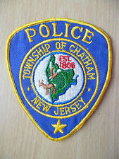 Patches: TOWNSHIP OF CHATHAM NEW JERSEY 1806 POLICE DEPT (New,4.12x3.14 inch)