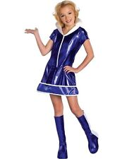 The Jetsons Jane Jetson Girls Fancy Dress Halloween Costume Size 3 - 4 Years New