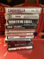Lot of 10 Cassette Tapes Rock Heavy Metal Hair Band Vintage Very Nice Condition.