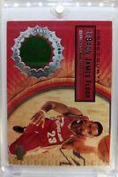 2003 03-04 Upper Deck Hardcourt LeBron James Rookie RC, Game Used Floor #LB7