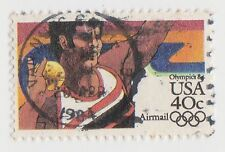 (UST-431) 1982 USA 40c shot put Olympics air mail (U)