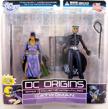 DC Origins series 1 CATWOMAN 6in Action Figure 2 pk DC Direct Toys