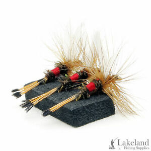 3, 6 or 12x Royal Coachman Dry Trout Flies for Fly Fishing