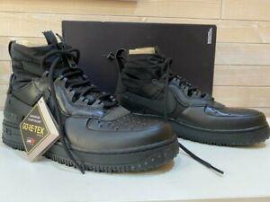 Nike Air Force 1 Gore - Tex Triple Black size 8. 5/ talla 42/ uk7. 5  CQ7211-003