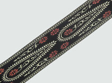 "02"" (5.08 Cm) wide By The Yard Jacquard Trim Woven Border Sew Ribbon T661"
