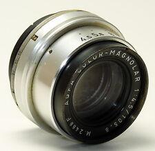 AGFA Munich OBJECTIF COLOR-magnolar 4,5/105,8 m.2488f avec filetage 40mm-rare